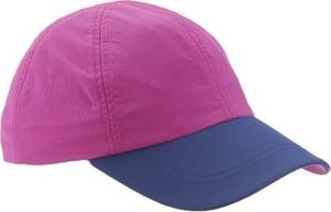 Fioletowa czapka quechua w młodzieżowym stylu