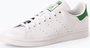 adidas Originals - Tenisówki męskie z dodatkiem skóry – Stan Smith, czarny