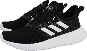 Czarne buty sportowe dziecięce Adidas Neo sznurowane