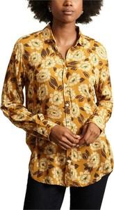 Żółta koszula Hartford z kołnierzykiem w stylu casual