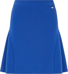 Niebieska spódnica Armani Exchange mini