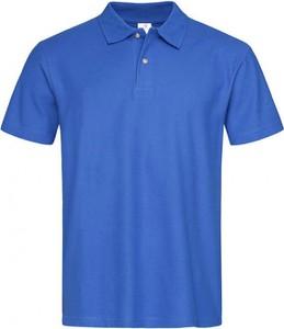 Granatowy t-shirt Stedman z krótkim rękawem