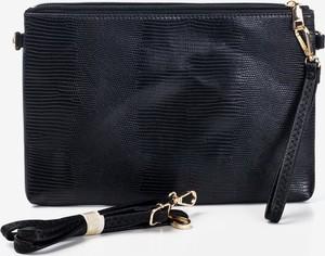 Czarna torebka Royalfashion.pl w stylu glamour mała