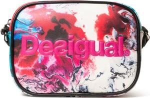 Torebka Desigual na ramię w młodzieżowym stylu średnia