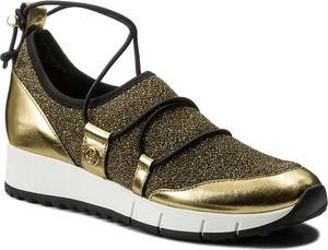 Złote buty sportowe liu-jo