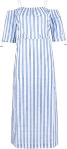 Sukienka Trussardi Jeans maxi w stylu casual