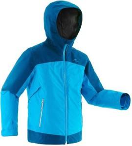 Niebieska kurtka dziecięca Quechua z plaru