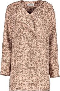 Brązowy płaszcz Lavard z bawełny