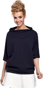 Bluzka MOE z bawełny w stylu casual z długim rękawem
