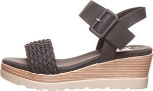 Sandały Miss Perfect Shapewear ze skóry ekologicznej w stylu casual
