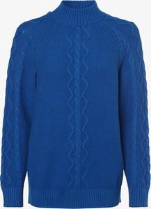 Niebieski sweter S.Oliver w stylu casual