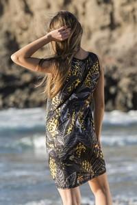 Sukienka Nessi Sportswear z długim rękawem mini