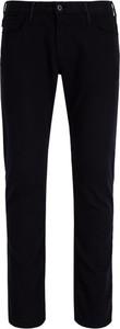 Granatowe jeansy Emporio Armani