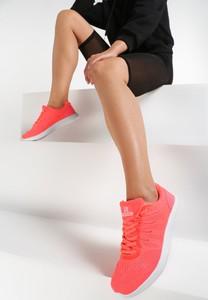 Renee pomarańczowe buty sportowe everybody run!