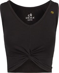 Top Deha z dekoltem w kształcie litery v z bawełny