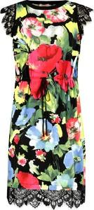 Sukienka Twinset z okrągłym dekoltem bez rękawów w stylu casual