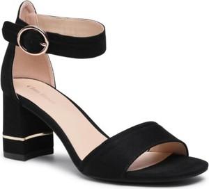 Czarne sandały Clara Barson