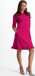 Sukienka Lavard mini z długim rękawem