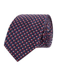 Fioletowy krawat Olymp z jedwabiu
