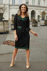 Czarna sukienka La'Aurora