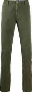 Zielone spodnie Incotex w stylu casual