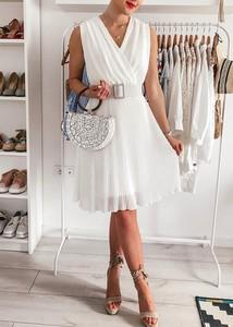 Sukienka FidoStyle z szyfonu