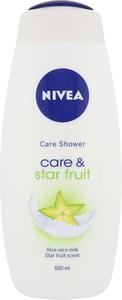 Nivea Care & Star Fruit Krem Pod Prysznic 500Ml