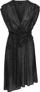 Czarna sukienka RAVN mini