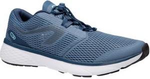Niebieskie buty sportowe Kalenji w sportowym stylu sznurowane