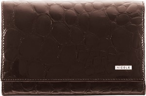 Brązowy portfel Nicole