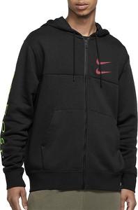 Czarna bluza Nike z bawełny w sportowym stylu