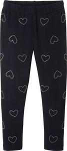 Czarne legginsy dziecięce bonprix bpc bonprix collection