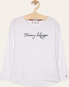Koszulka dziecięca Tommy Hilfiger z dzianiny z długim rękawem
