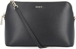 Czarna torebka DKNY matowa