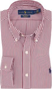 Koszula POLO RALPH LAUREN z bawełny z długim rękawem z kołnierzykiem button down