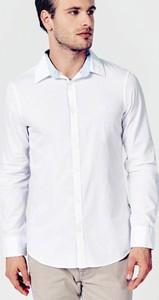 Koszula Guess w stylu casual z długim rękawem z bawełny
