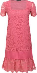 Różowa sukienka Twinset