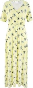 Sukienka bonprix bpc bonprix collection w stylu boho maxi