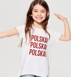 Koszulka dziecięca Mohito dla dziewczynek z bawełny