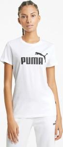 T-shirt Puma z okrągłym dekoltem w sportowym stylu