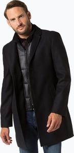 Czarny płaszcz męski Andrew James