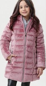 Różowa kurtka dziecięca born2be