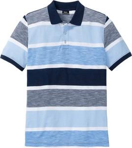 Koszulka polo bonprix bpc bonprix collection w stylu casual z krótkim rękawem