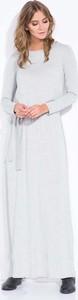 Sukienka Coco Style maxi z okrągłym dekoltem