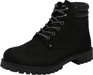 Czarne buty zimowe Jack & Jones