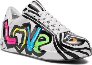 Buty sportowe eobuwie.pl na platformie sznurowane