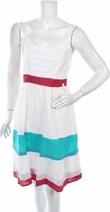 Sukienka Aller mini rozkloszowana z okrągłym dekoltem