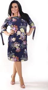 Sukienka Oscar Fashion w stylu casual hiszpanka