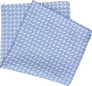 Błękitna poszetka recman