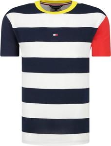 T-shirt Tommy Hilfiger Swimwear z krótkim rękawem